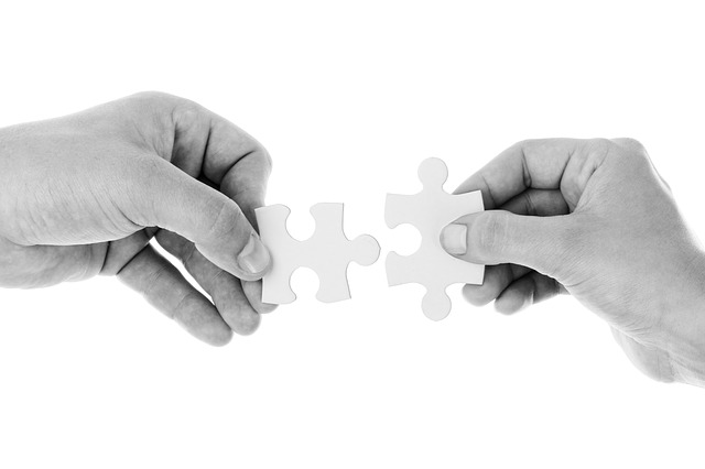 Cross Connection Control Specialists joining 2 puzzle pieces together